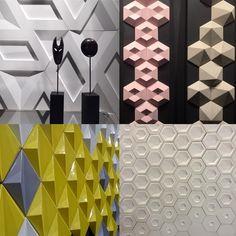"""Revista Arquitetura&Construção no Instagram: """"Tridimensionais estão arrasando na @exporevestir_oficial! #aecnarevestir #revestimento #exporevestir2016 #revistaaec"""""""