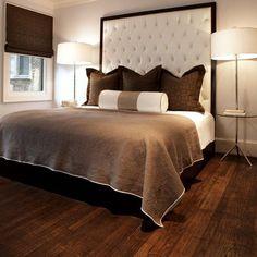 decoración y suelos materiales de piso para dormitorios modernos