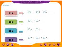 Unidad 1: Números de 3 cifras - 3º de Educación Primaria
