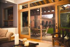 Let the fresh air in & keep bugs out with our custom disappearing, retractable screen doors. Get a quote today.