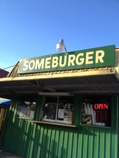 Someburger serves an old-fashioned greasy burger (wrapped in nondescript white paper) that puts the corporate patties to shame. Grab a seat at the picnic table and enjoy your burger amid the Heights scenery (Houston, TX)