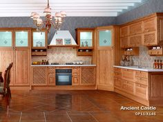 Specification:    wooden kitchen cabinet  Acoording to E1 environmental protection standard  Solid Wood Kitchen Cabinet  Oak Kitchen Cabinet