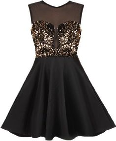 Pretty Homecoming Dress,Sequined Homecoming Dress,Chiffon Graduation Dress…