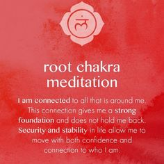 guided meditation for root chakra Guided Meditation, Root Chakra Meditation, Meditation Musik, Easy Meditation, Meditation Practices, Mindfulness Meditation, Meditation Scripts, Meditation Prayer, Mantra