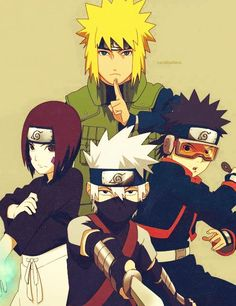 """How many of you guys secretly want to die inside when you remember that people called him """"Friend-Killer"""" Kakashi? I can't have been the only person going """"He's just a kid!""""  SakuraBlossom  - http://ift.tt/1HQJd81"""