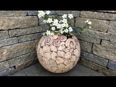 Keramik Pflanzkugel/Ceramic planter ball - YouTube