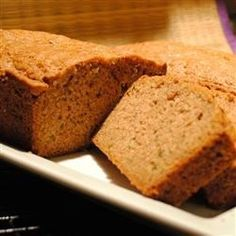 "My Kid's Favorite Zucchini Bread | ""Really fabulous! All four of my kids (6, 5, 2, 1) LOVED THIS recipe. I didn't change a thing."""