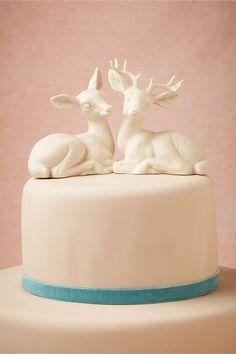 Oh Deer Cake Topper from BHLDN