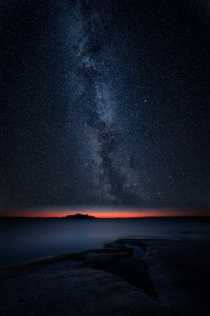 Milky way night shot, foreground and background composed of different shots from same location, same night.