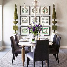 The stock on our new Oliver Dining Chairs in this #gorgeous Vahalla Pewter just arrived. Who knew dining chairs could look so luxurious & chic and be so incredibly comfortable at the same time. It may take awhile for your guests to leave. @traditionalhome #highfashionhome #diningroom #homedecor  http://www.highfashionhome.com/oliver-side-chair.html
