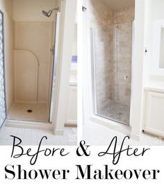 check out this shower makeover using discounted travertine stone tiles from floor u0026 decor
