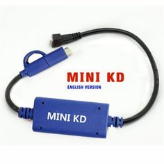 Mini KD is auto key remote maker generator. Mini KD Keydiy Key Remote Maker Generator connect the mobile phone directly to generate the remote key. Keydiy Mini KD can be used with mobile phone with Android and iOS system.