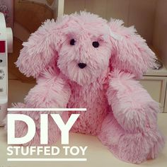 Quick and easy! Make this stuffed toy using a two-piece pattern Simplicity 8044.