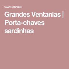 Grandes Ventanias |   Porta-chaves sardinhas