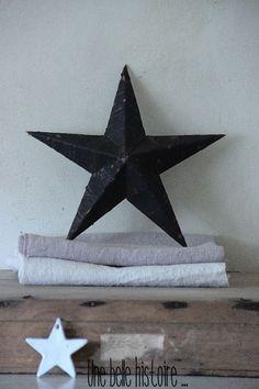 //Black star.