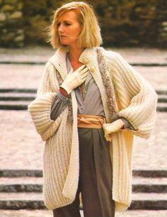 Knit Pattern Women Jacket No 2 Size 14-16 or by laprairielady