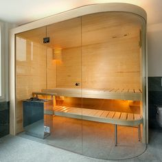KUNG AG Sauna bouw, Wädenswil, Zwitserland: Glas Innovation, Saunas, Divider, Construction, Houses, Interior Design, Furniture, Home Decor, Basement