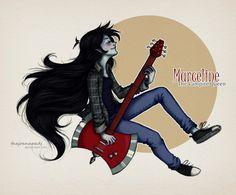 Marceline! by TheJoanaPADJ on DeviantArt