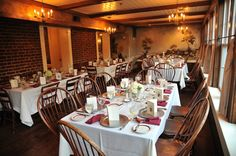 Mount Vernon Inn - District Weddings | perfectly classy rehearsal dinner venue, casually elegant