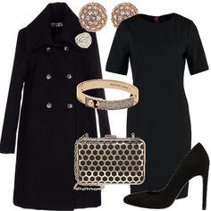 Semplice eleganza  outfit donna Bon Ton per cerimonia e serata fuori  a2679d3bf3b