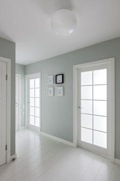 22 Ideas Bedroom Lighting White Floors For 2019 Room Design, Interior, Home, White Floors, Bedroom Design, Bedroom Green, House Interior, Simple Bedroom, Bright Apartment