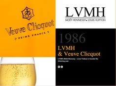 LVMH & Veuve Clicquot founded. #veuveclicquot #aipevents