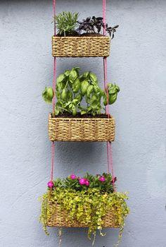 DIY Hanging Garden Baskets