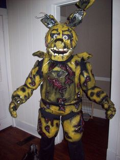 image result for springtrap costume