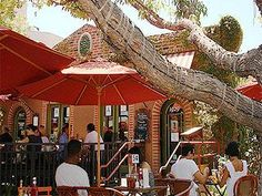 Alcove Cafe and Bakery in the Los Feliz area of Los Angeles is a great place for brunch.
