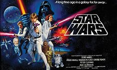 Star Wars - created by George Lucas - starring Alec Guinness, James Earl Jones, Mark Hamill, Harrison Ford and Carrie Fisher Stars Wars Iv, Star Wars Episódio Iv, Star Trek, Mark Hamill, Walt Disney Pictures, Chewbacca, Metallica, Le Retour Du Jedi, Suicide Squad