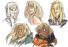 Just some quick Fools. I wanted to get an idea of the colour changes. I want to do some Amber fanart when I've finished my deadlines and cleaned up my deadline mess.