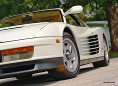 Mecum Miami Vice Testarossa Ferrari Berlinetta, Don Johnson, Miami Vice, Sports Car Racing, Japanese Cars, Fast Cars, Favorite Tv Shows, Luxury Cars, Super Cars