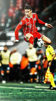 Up in the air Best Football Players, Football Is Life, Football Art, World Football, Soccer Players, James Rodrigues, James Rodriguez Wallpapers, Steven Gerrard, James Rodriguez Colombia
