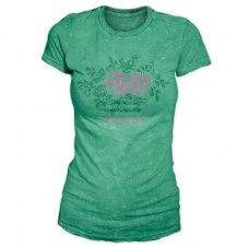 Green crosstitch Alprausch women's T-shirt T Shirts For Women, Green, Mens Tops, Fashion, Moda, Fashion Styles, Fasion