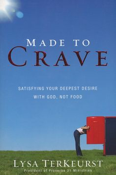 This book is super eye opening! It talks about your relationship with food and how it can impact your relationship with God