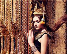 Thai Style@Wat Pho Thailand Lip Magazine Feb 2012 by Pearypie Makeup