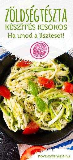 Ha unod a megszokott köreteket, és valami egészségesebbre váltanál, készítsz tésztát zöldségekből! Cikkünkben összeszedtük, hogyan és mely zöldségeket érdemes használnod hozzá! #vegan #vegán #vegánételek #vegánétrend #zöldségtészta #zöldségek #növényi #növényitáplálkozás #növényiétrend #zoldsegek #veganetelek #veganfozes #főzés #vegánfőzés #tippek #veganproteintriplex #novenyifeherje #növényifehérje #veganprotein Protein, Meat, Chicken, Food, Beef, Meal, Essen, Hoods, Meals