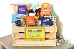 Gamer Gift Basket for Hubby
