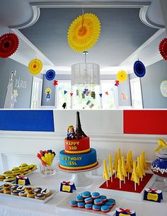 Madeline Party - #kidsparty #partydecor