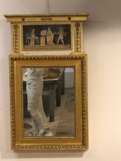 19TH CENTURY GILTWOOD PIER GLASS MIRROR