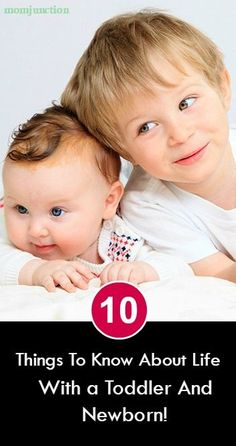 10 Things To Know About Life With A Toddler And Newborn! How do you keep your toddler busy while caring for the newborn, so you can pretty much make the best of the time at home? Here are our 10 picks #Parenting