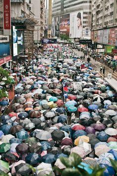 "berlinjournal: "" 7/1 Demonstration ,Causeway Bay, Hong Kong by Xavier Manhing """