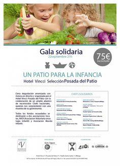 'Un patio para la infancia' la gala benéfica de Vincci Hoteles en el hotel de Málaga Vincci Posada del Patio 5*