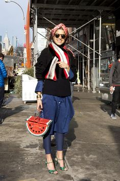Three outfit ideas that demonstrate how to wear leggings as pants.