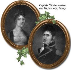Captain Charles Austen and his first wife Fanny