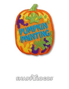 Painted Pumpkins, Girl Scouts, Girl Scout Fun Patches, Cool Patches, Painting, Kids, Young Children, Painted Gourds, Boys