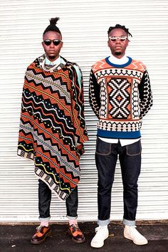 MAXHOSA BY LADUMA knitwear www.maxhosa.co.za