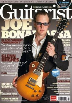 Joe Bonamassa - Guitarist Magazine Cover [United Kingdom] (July 2011)