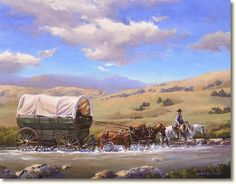 How the Early Pioneers Preserved Food and What They Ate — Imagine living in an era when there is no refrigeration. Ever thought about the foods our pioneer ancestors ate, and ancient people before them? Foods from years ago or long before that. Native American Art, American History, Mormon Pioneers, Lds Art, Into The West, Covered Wagon, Cowboys And Indians, American Frontier, Le Far West