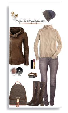 """Cashmere Turtleneck"" by mywalletmystyle ❤ liked on Polyvore featuring MICHAEL Michael Kors, Makers of True Originals, J.Crew, Steve Madden, Chanel, BillyTheTree, Coal and Bling Jewelry"